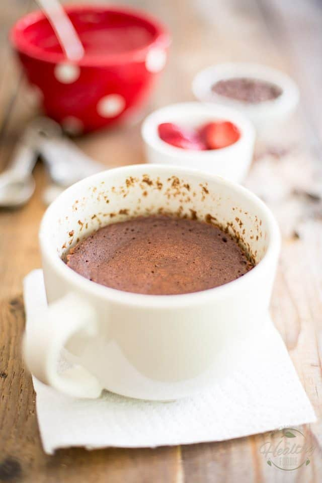 Minute Chocolate Mug Cake | the