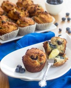 Blueberry Muffins Paleo Home Cooking | thehealthyfoodie.com