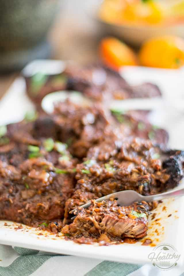 Braised Sirloin Steaks | thehealthyfoodie.com