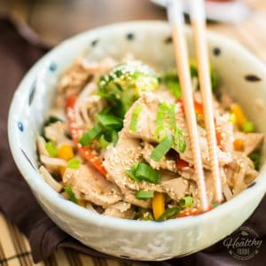 Quick Chicken Pad Thai