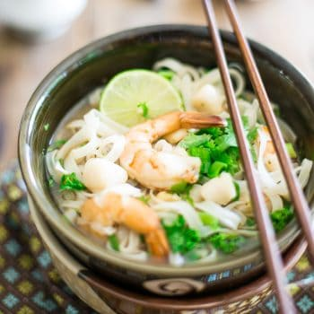 Instant Seafood Pho