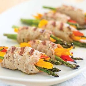 Pork Scaloppine Roll-Ups | thehealthyfoodie.com