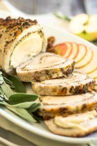 Apple Pecan Porc au Coq | thehealthyfoodie.com