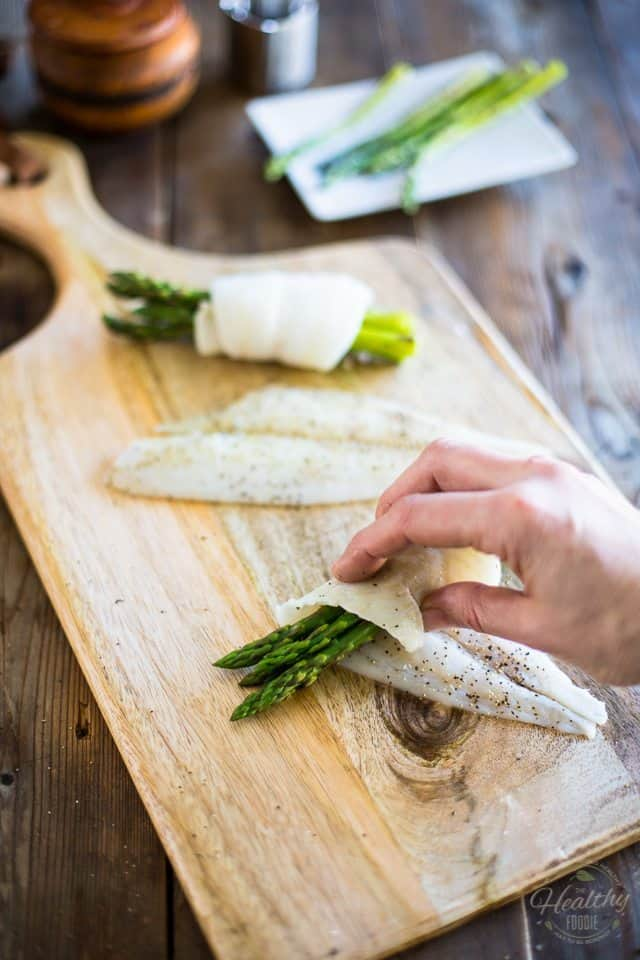 Easy Fish Roll-Ups   thehealthyfoodie.com