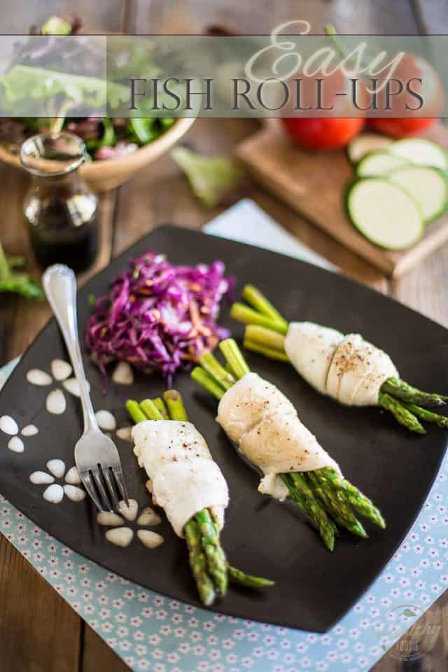 Easy Fish Roll-Ups | thehealthyfoodie.com