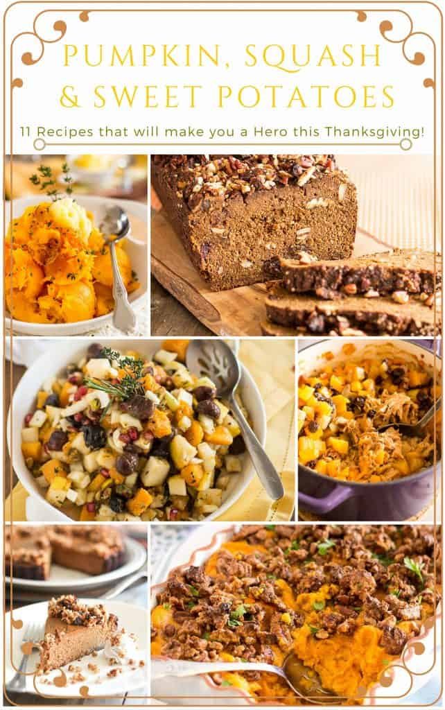 Thanksgiving Recipe Roundup | thehealthyfoodie.con