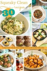 Squeaky Clean Recipes Roundup - thehealthyfoodie.com