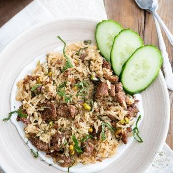 Lebanese Lamb Rice