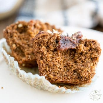 Naturally Sweetened Bran and Date Muffins
