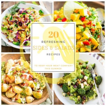 Summer Sides and Salads Recipe Roundup | thehealthyfoodie.com