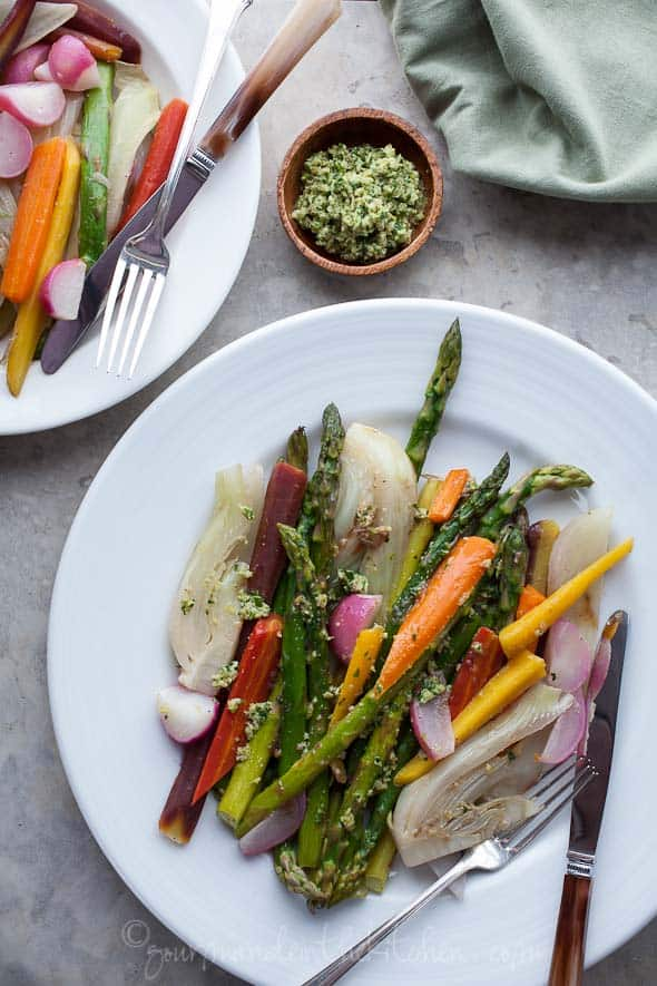 Braised-Vegetables-with-Green-Olive-Pesto-Gourmande-in-the-Kitchen