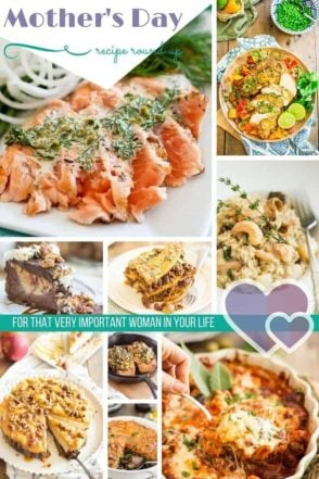 Mothers Day Recipe Roundup   thehealthyfoodie.com