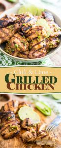 Chili Lime Grilled Chicken | thehealthyfoodie.com