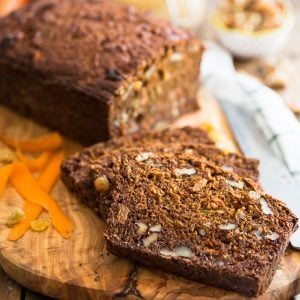 Morning Glory Bread – Naturally Sweetened