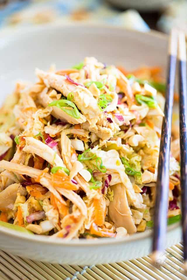 Highly nutritious, filling and satisfying, this Shredded Chicken Salad has a delicious Asian flavor profile that'll have you coming back for more!