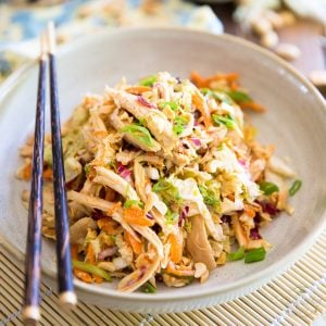 Asian Shredded Chicken Salad