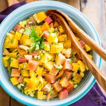 Beet Mango Salad