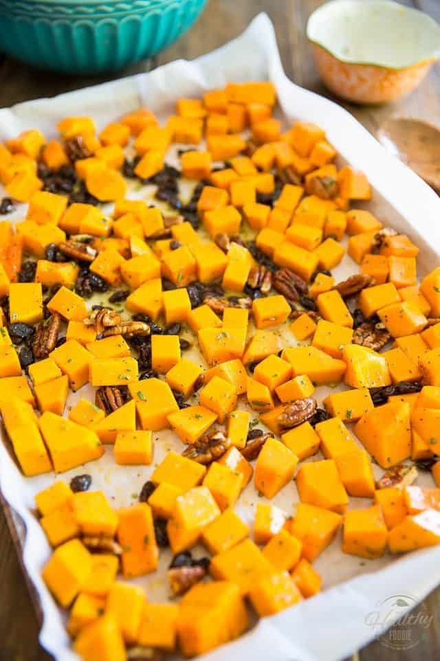 This Candied Butternut Squash is so good, you don't even need to be a fan of squash to enjoy it! Plus, it goes good alongside practically everything, any time of day!