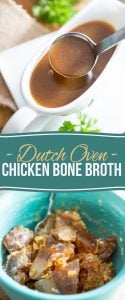 The richest, darkest and most delicious chicken bone broth - period.