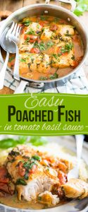 From frozen to table in under 30 minutes - you won't believe how incredibly tasty and delicious this Easy Poached Fish recipe really is!