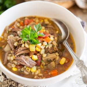 Comforting Beef and Barley Soup