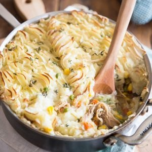 Chicken Cottage Pie by Sonia! The Healthy Foodie | Recipe on thehealthyfoodie.com