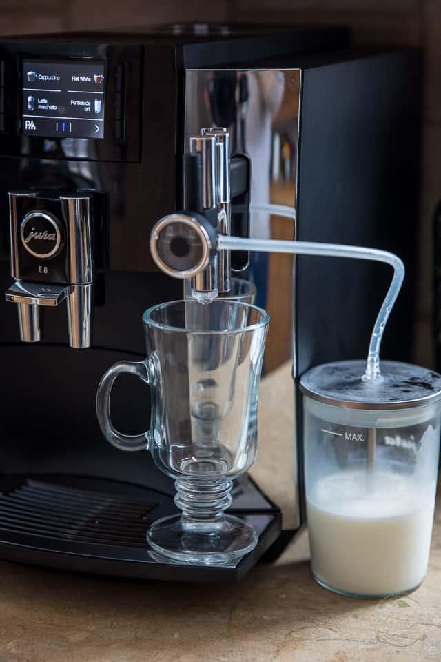 Jura E8 Milk Container