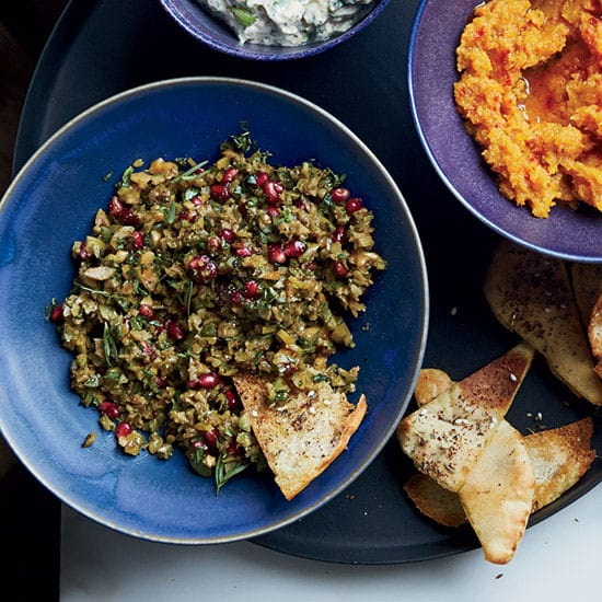 green-olive-walnut-pomegranate-dip