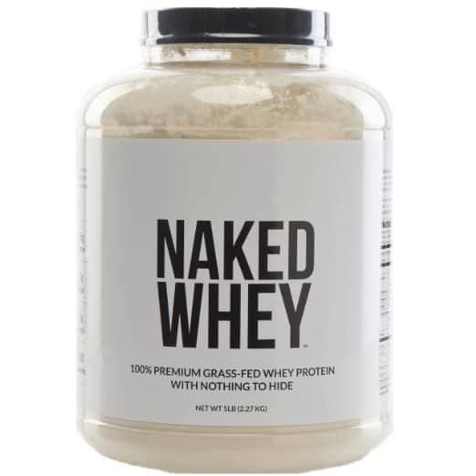 Naked Whey 5lb Jug