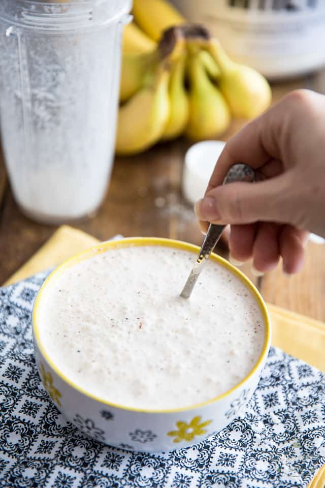 High Protein Banana Bread Overnight Oats by Sonia! The Healthy Foodie | Recipe on thehealthyfoodie.com