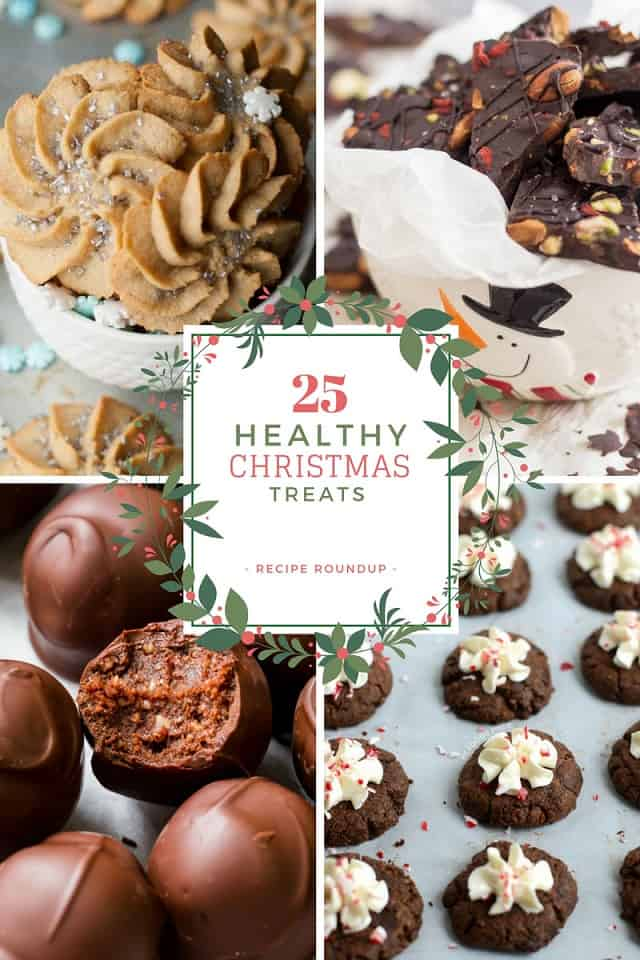 Healthy Christmas Treats Recipe Roundup