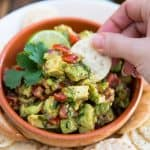 Chunky Avocado Salsa by Sonia! The Healthy Foodie | Recipe on thehealthyfoodie.com