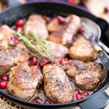 Cranberry Maple Pork Medallions