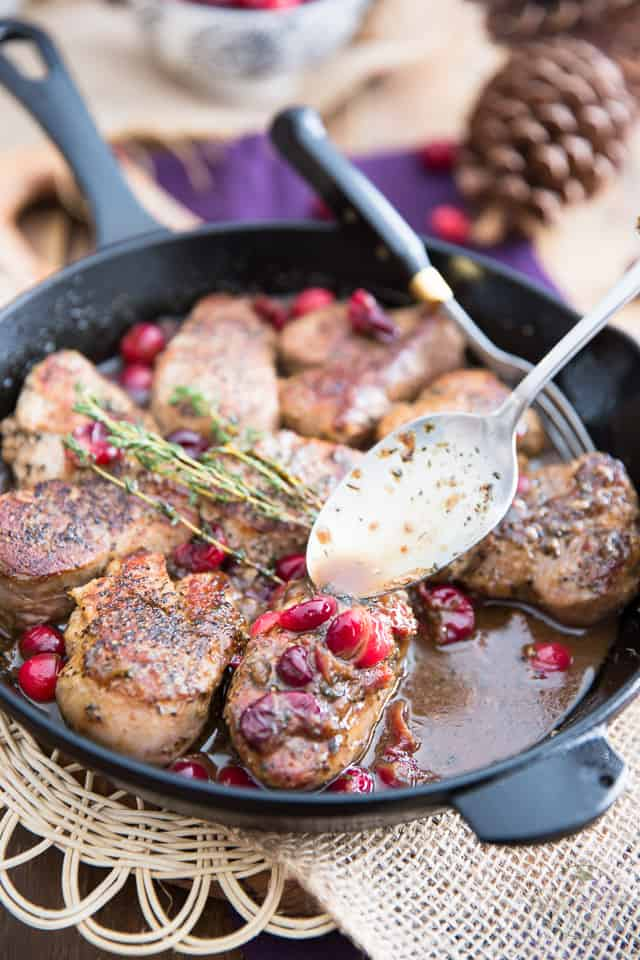 Easy and quick to make, simple but delicious, these Cranberry Maple Pork Medallions are perfect for just about any occasion!