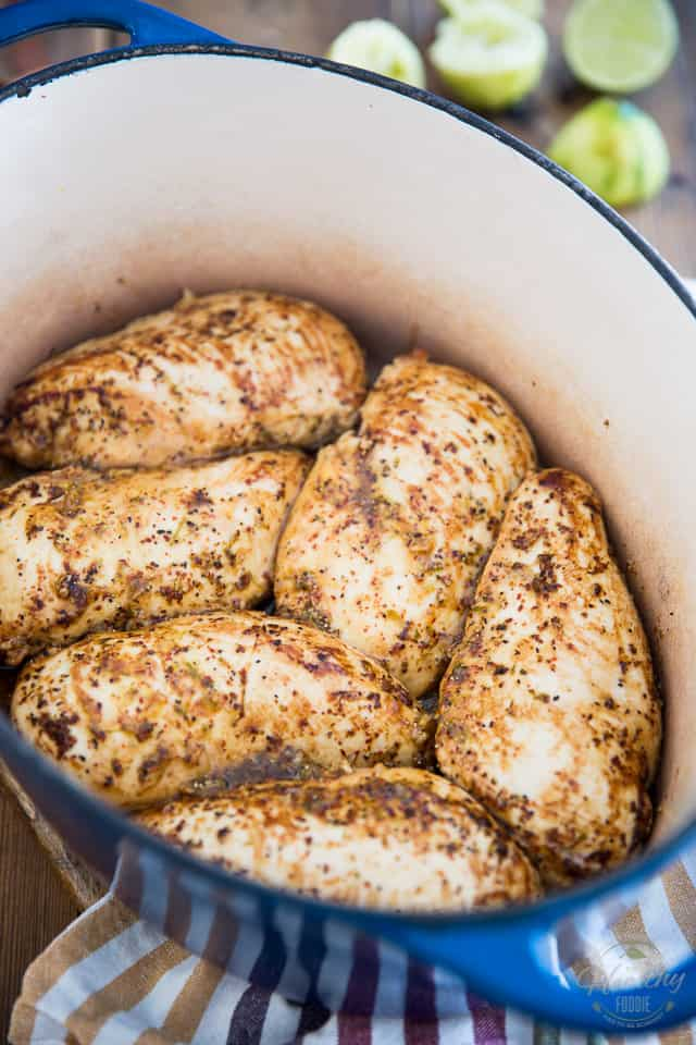 Oven Baked Lime and Pepper Chicken by Sonia! The Healthy Foodie | Recipe on thehealthyfoodie.com