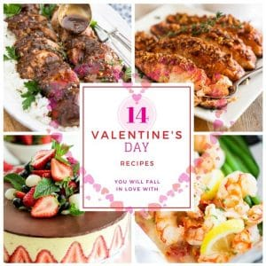 An assortment of 14 of my favorite healthy recipes to that will have you fall in love this Valentine's Day... cuz who says healthy can't be loveable!