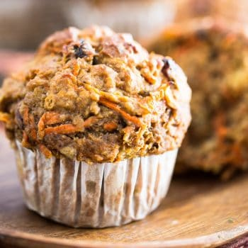 No Added Sugar Carrot Muffins