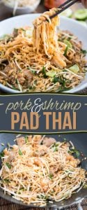 Quick and Easy Pork and Shrimp Pad Thai - who needs take out when you can do even better in the comfort of you own home?