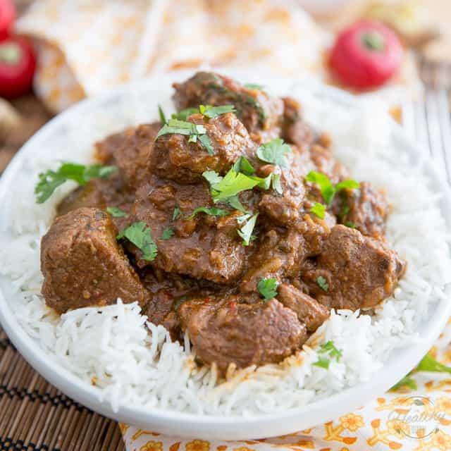 Rogan Josh Inspired Lamb Stew • The Healthy Foodie