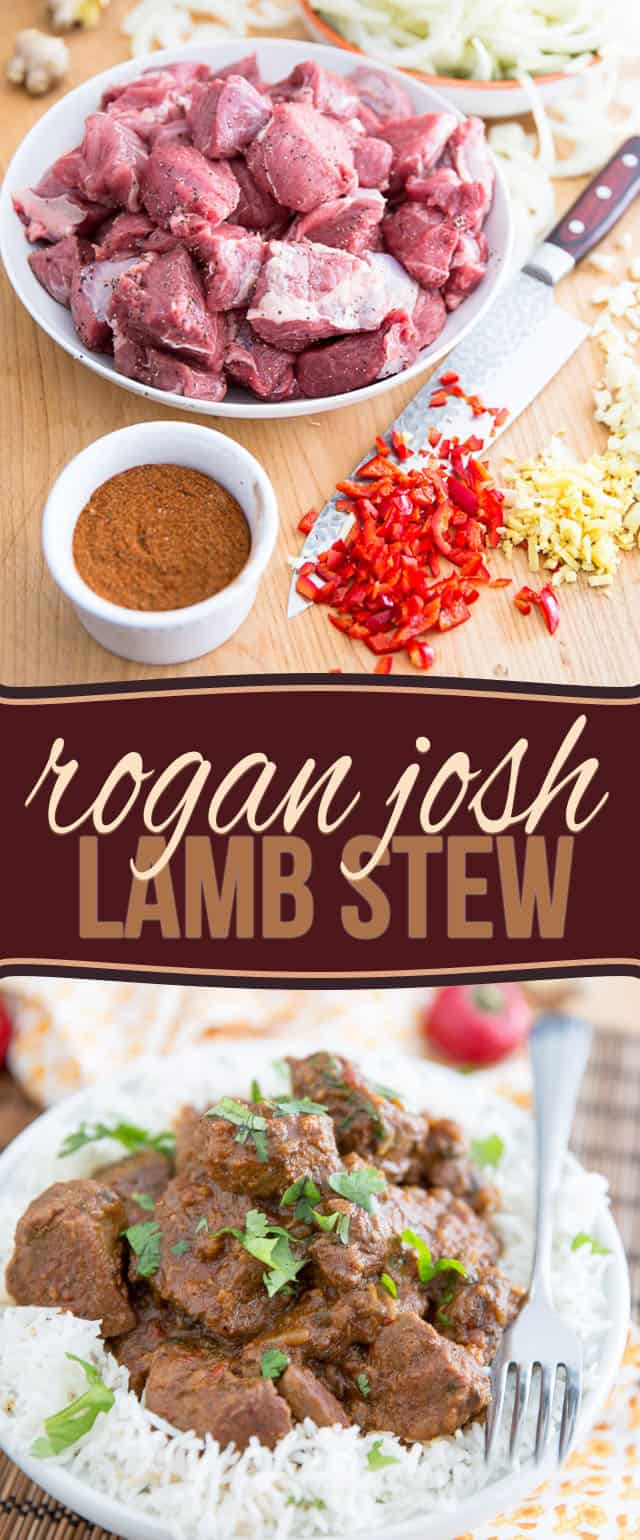 Rogan Josh is a classic hot and spicy lamb stew that's packed with so much flavor, you won't be able to put that fork down!
