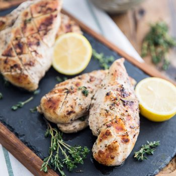 Shish Taouk Style Chicken Breasts by Sonia! The Healthy Foodie | Recipe on thehealthyfoodie.com