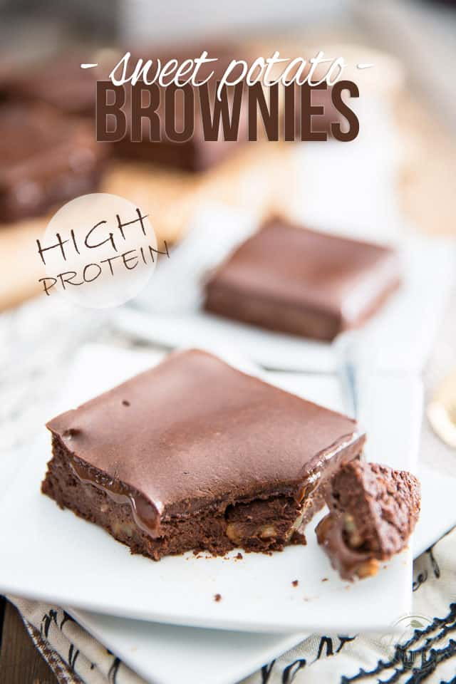 Deliciously Healthy Sweet Potato Brownies The Healthy Foodie