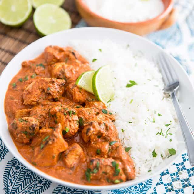 Chicken Tikka Masala The Healthy Foodie