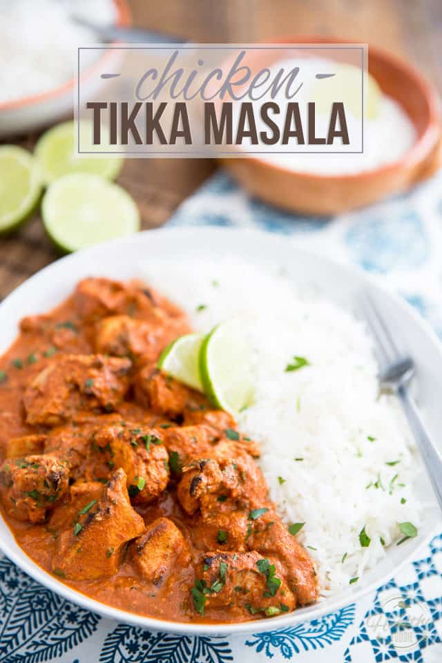 Chicken Tikka Masala The Healthy Foodie