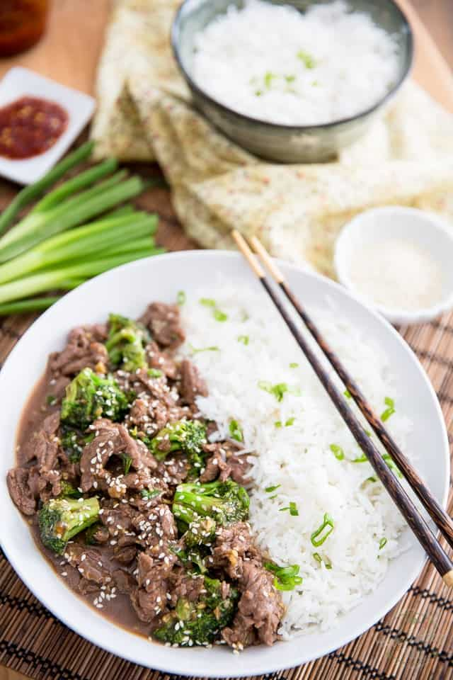 This Beef and Broccoli is so easy to make and so crazy delicious, you'll never want to settle for take-out ever again!