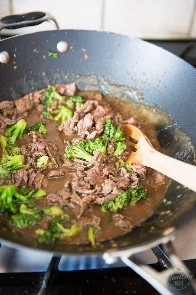 Easy Beef and Broccoli by Sonia! The Healthy Foodie | Recipe on thehealthyfoodie.com