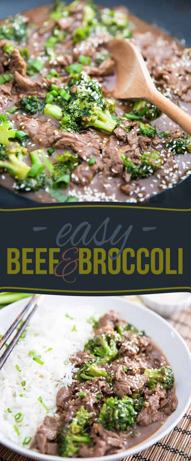 This Beef and Broccoli is so easy to prepare and so crazy delicious to eat, you'll never want to settle for take-out ever again!