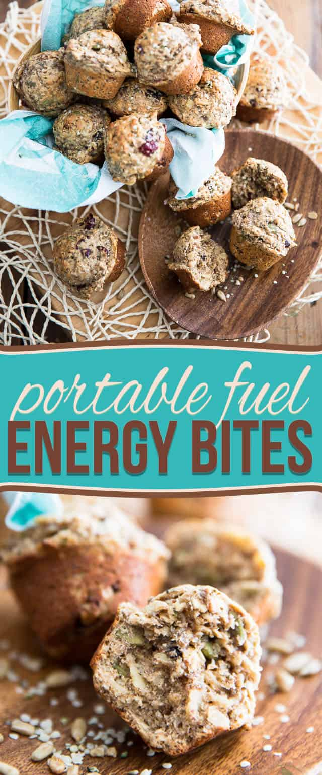 Loaded with seeds, grains, dried fruits and nuts, these Energy Bites are veritable little kick starters; a delicious way to fuel your body on the go!