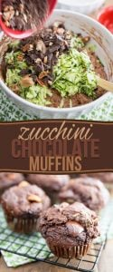 Made with nothing but wholesome ingredients and loaded with intense chocolate flavor, these Zucchini Chocolate Muffins will please even the kid in you!