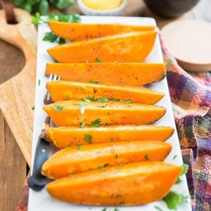 Easy Baked Sweet Potatoes